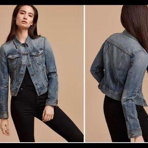 Aritzia Talula Denim Jacket size XS